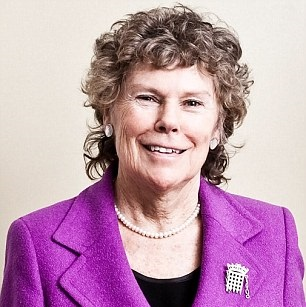 Kate Hoey, ex-Sports Minister and now working with Boris Johnson on the Olympic project, photographed at her Westminster Office